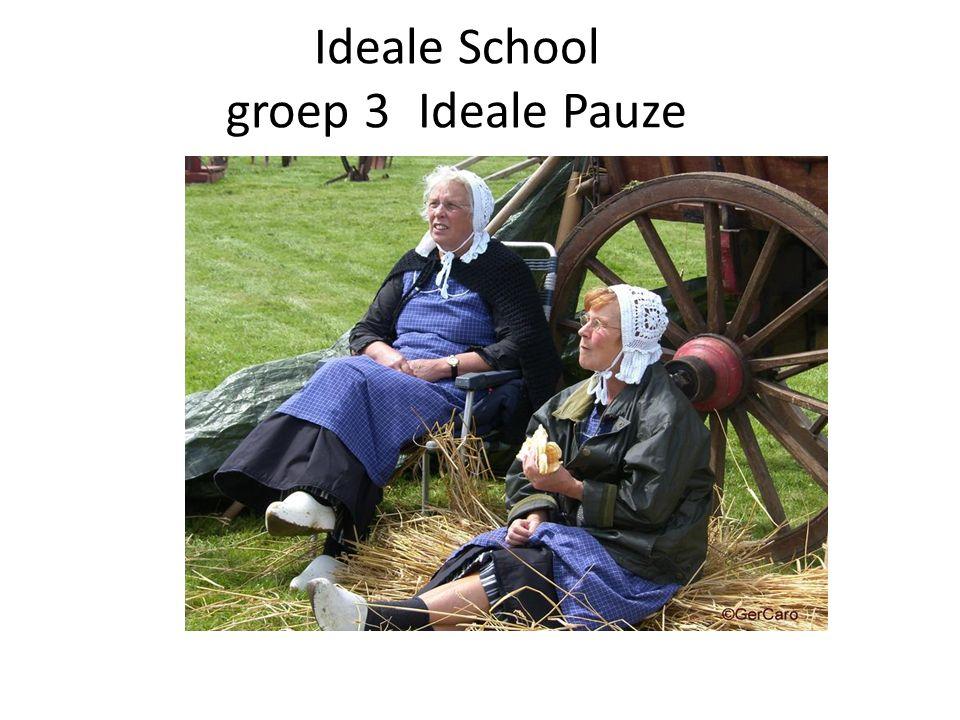 Ideale School groep 3 Ideale Pauze