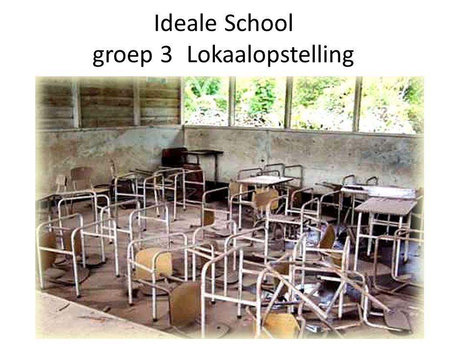 Ideale School groep 3 Lokaalopstelling