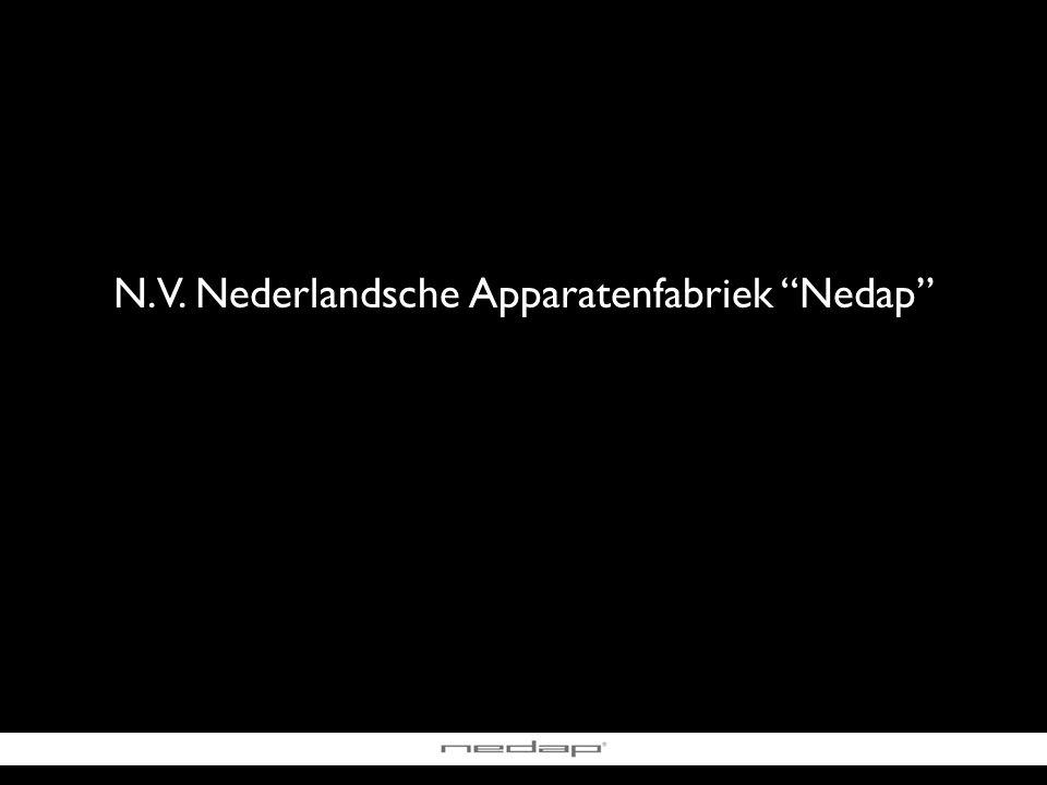 N.V. Nederlandsche Apparatenfabriek Nedap