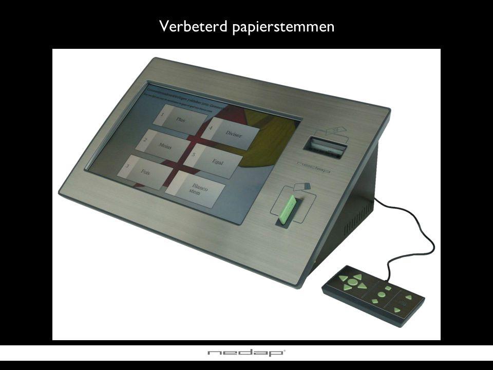 Verbeterd papierstemmen