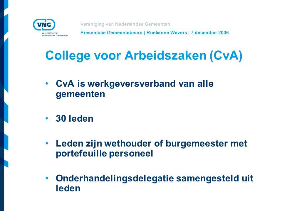 College voor Arbeidszaken (CvA)