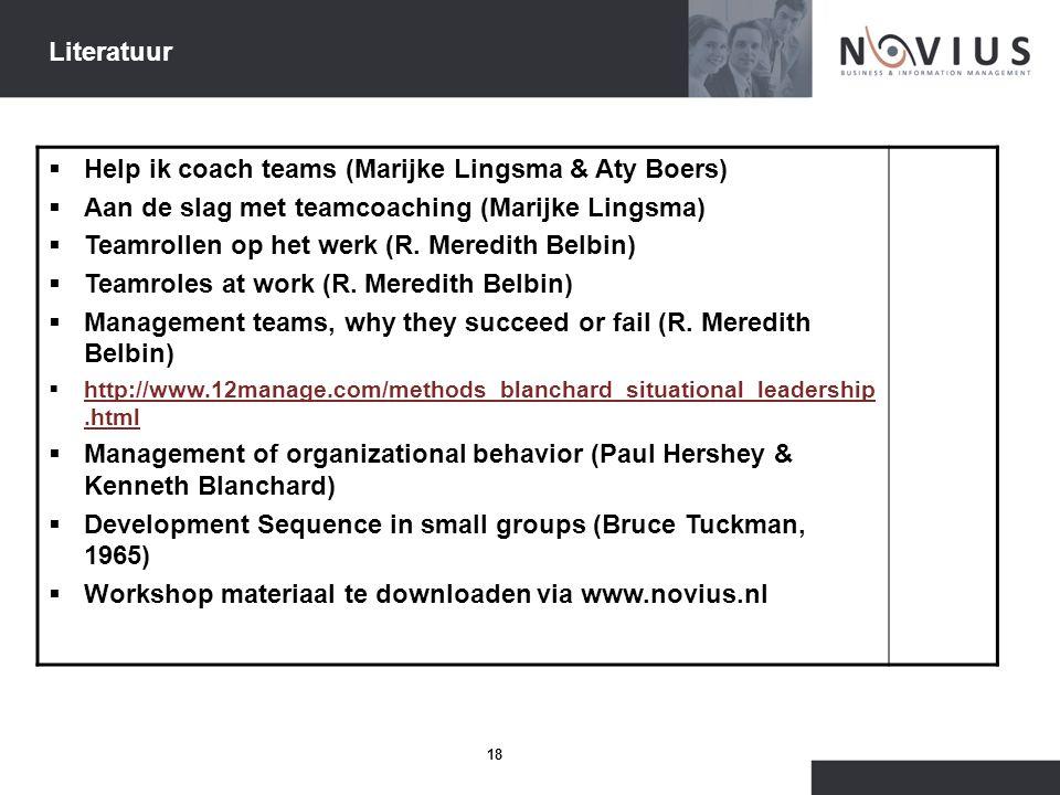 Help ik coach teams (Marijke Lingsma & Aty Boers)