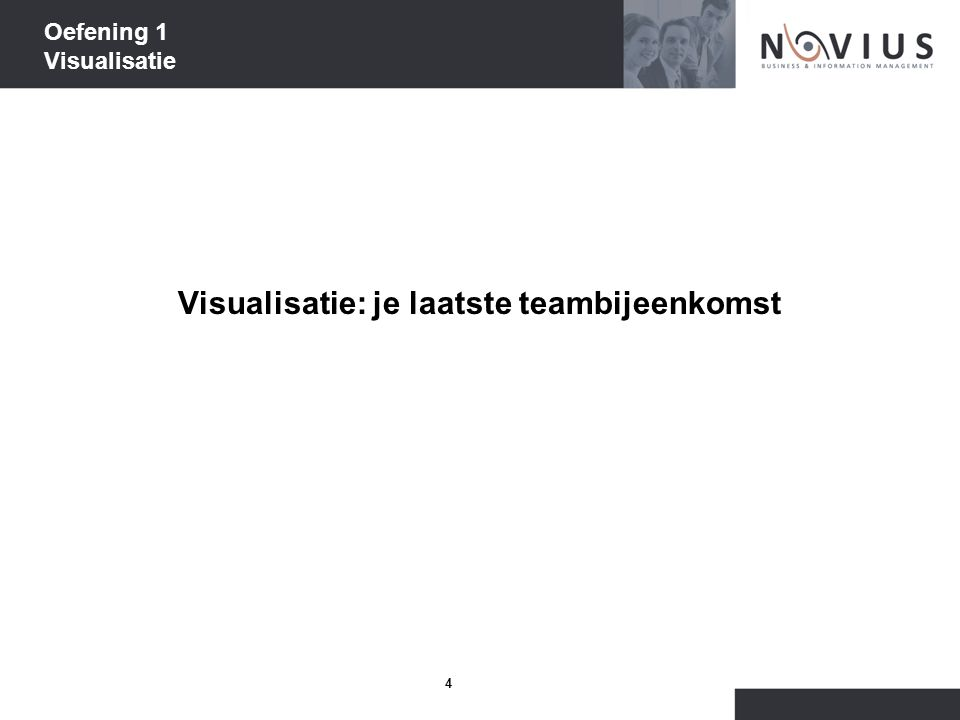 Oefening 1 Visualisatie