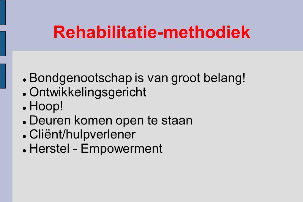 Rehabilitatie-methodiek