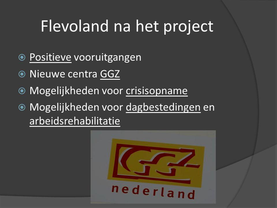 Flevoland na het project