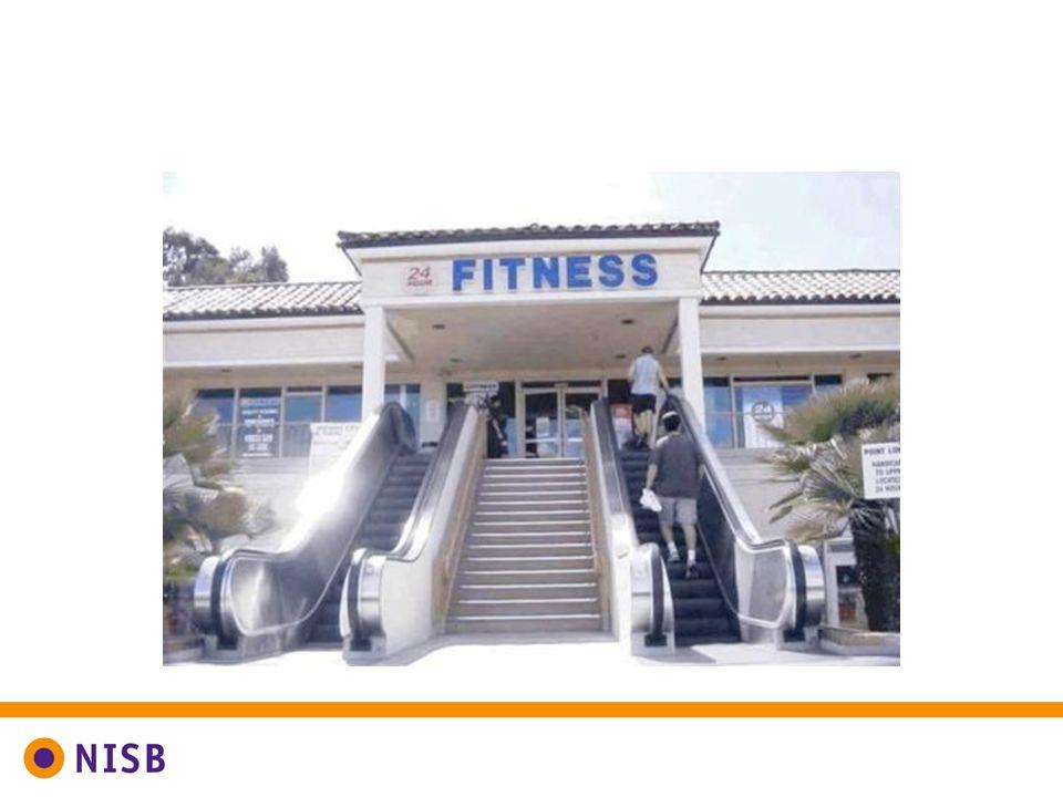 Voor een gezonde leefstijl wil je mensen stimuleren meer te sporten en te bewegen.