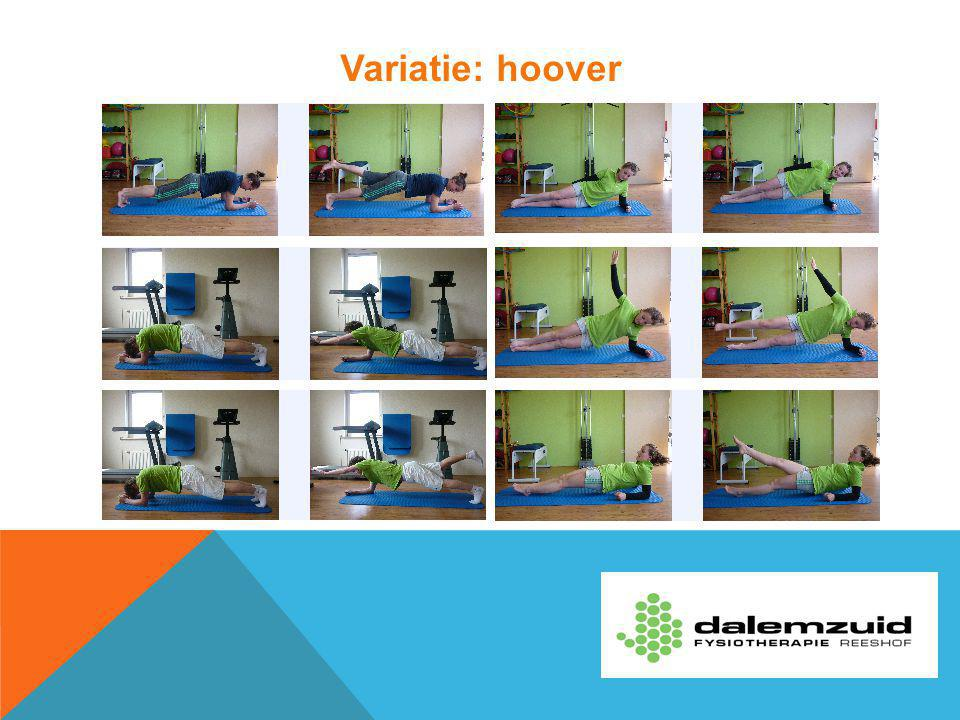 Variatie: hoover