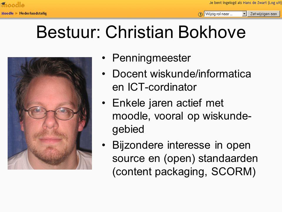 Bestuur: Christian Bokhove