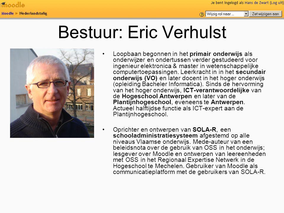 Bestuur: Eric Verhulst