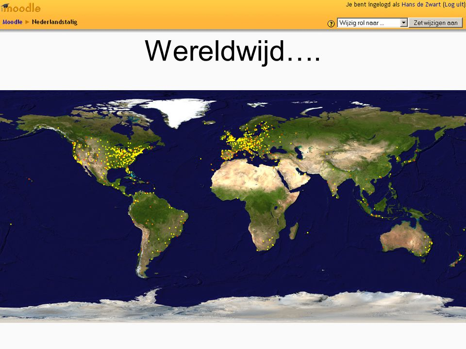 Wereldwijd….