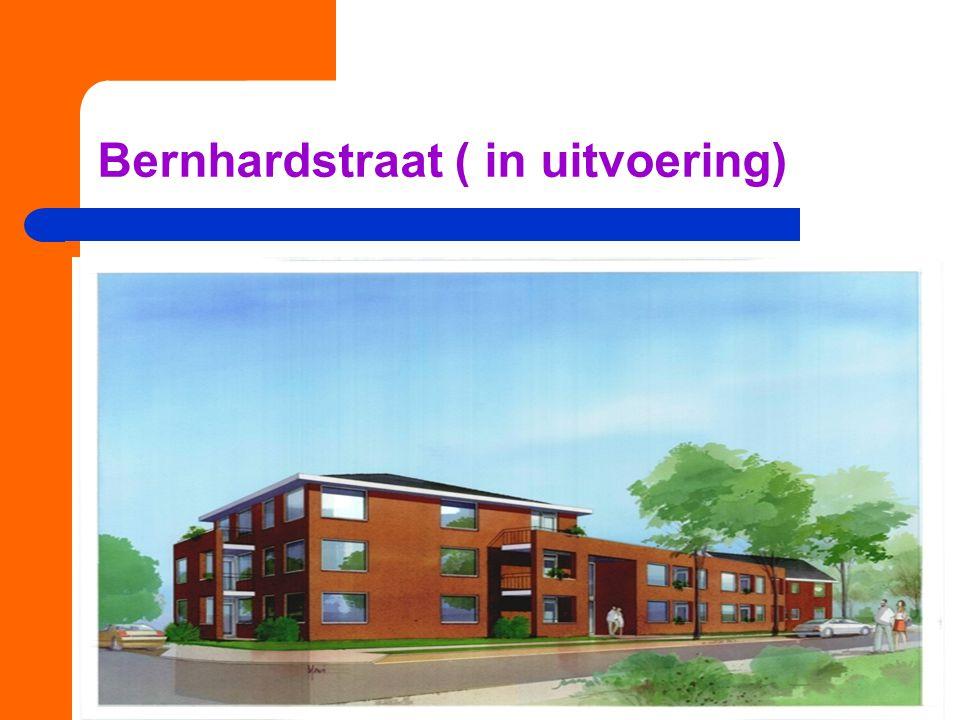 Bernhardstraat ( in uitvoering)