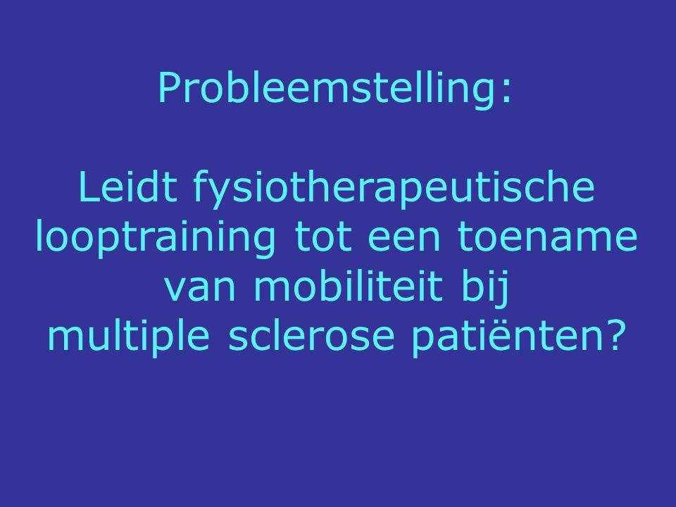 multiple sclerose patiënten