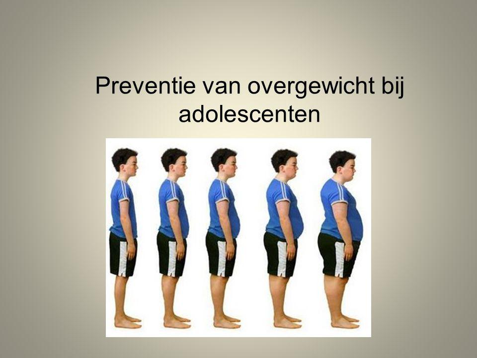 Preventie van overgewicht bij adolescenten