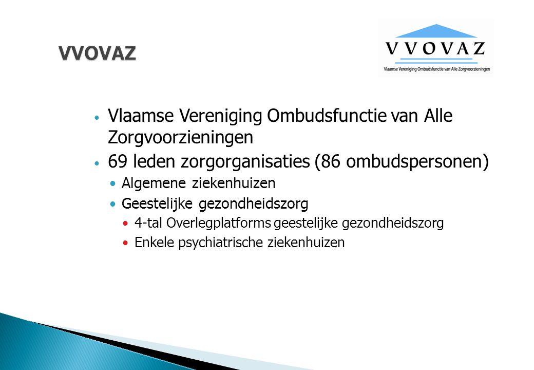 VVOVAZ Vlaamse Vereniging Ombudsfunctie van Alle Zorgvoorzieningen