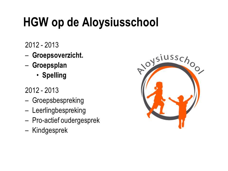 HGW op de Aloysiusschool