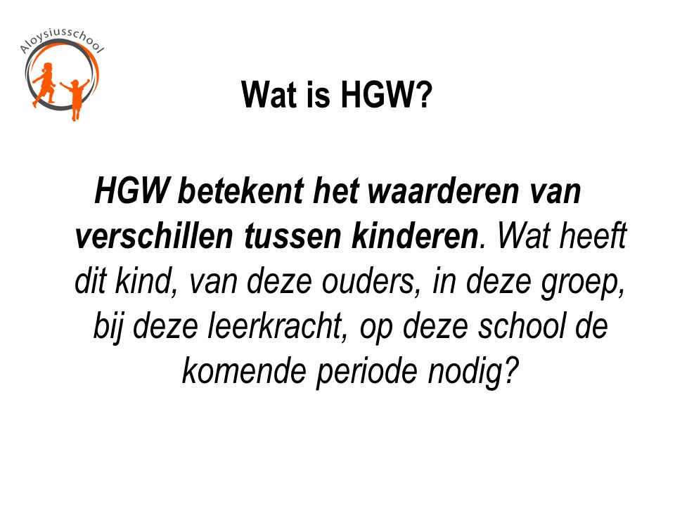 Wat is HGW