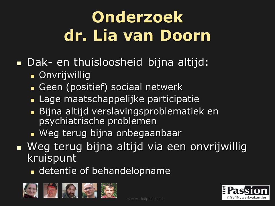 Onderzoek dr. Lia van Doorn