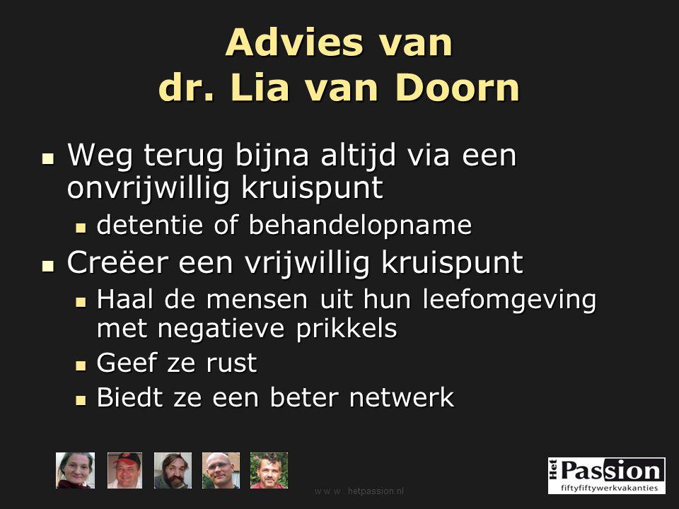 Advies van dr. Lia van Doorn