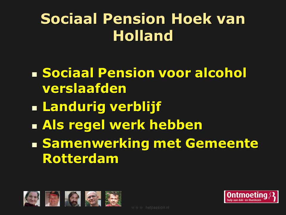 Sociaal Pension Hoek van Holland