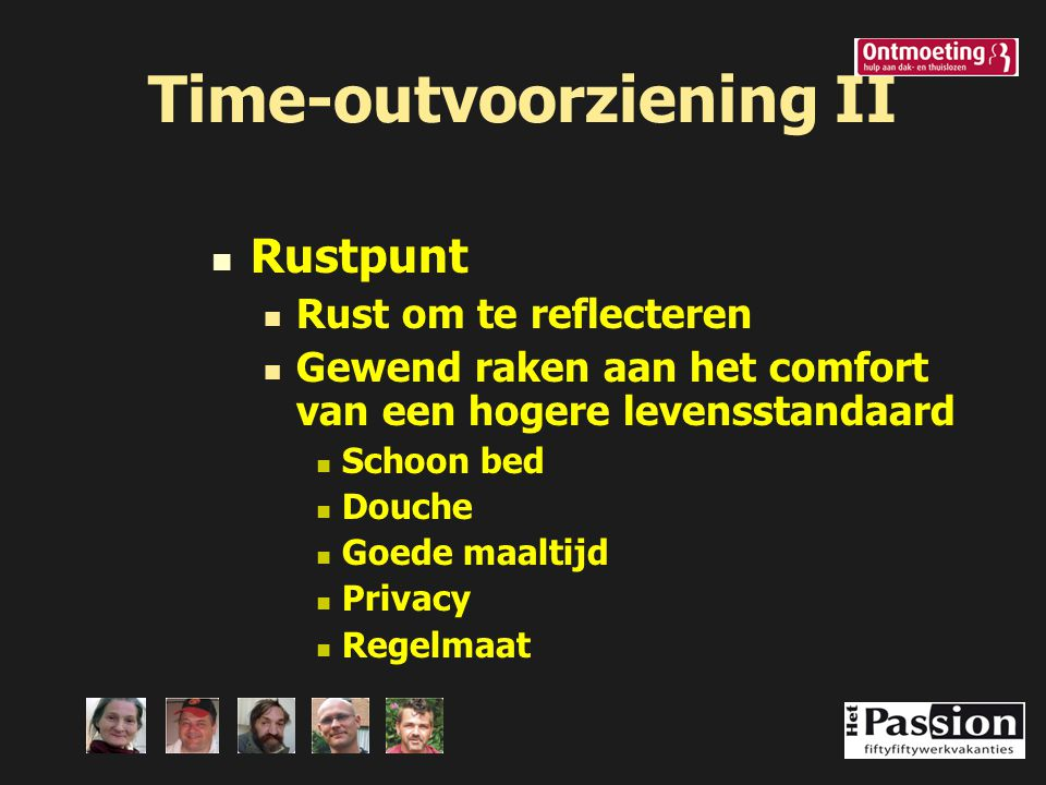 Time-outvoorziening II