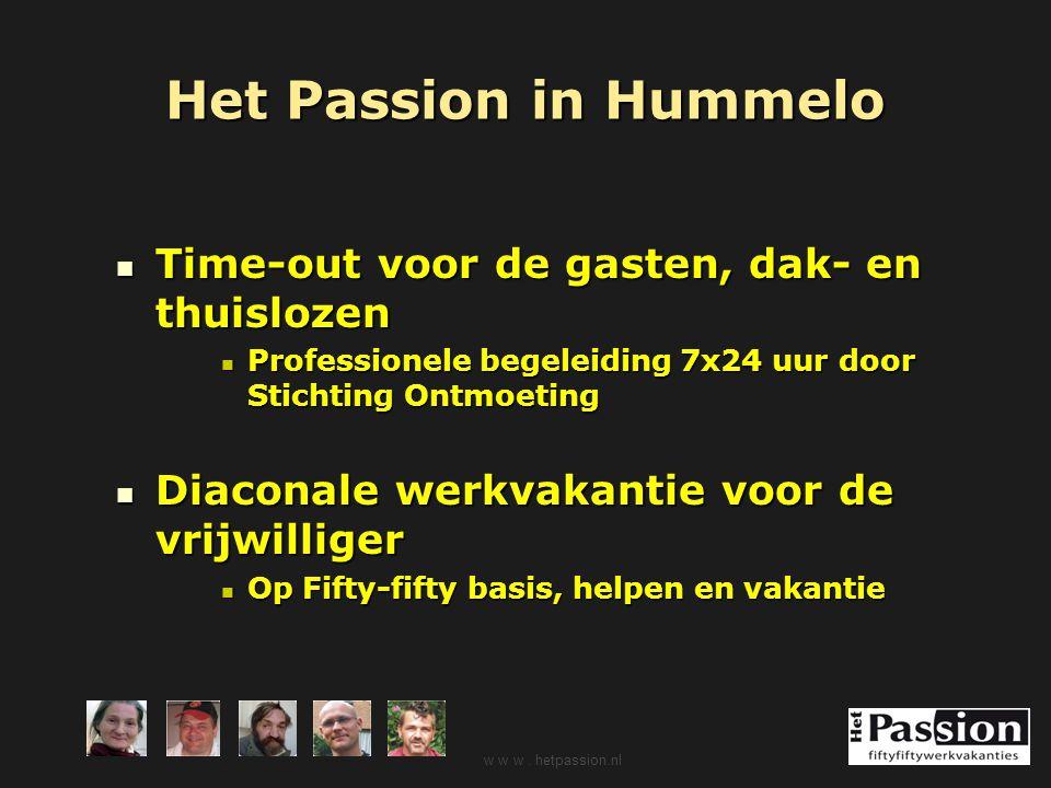 Het Passion in Hummelo Time-out voor de gasten, dak- en thuislozen