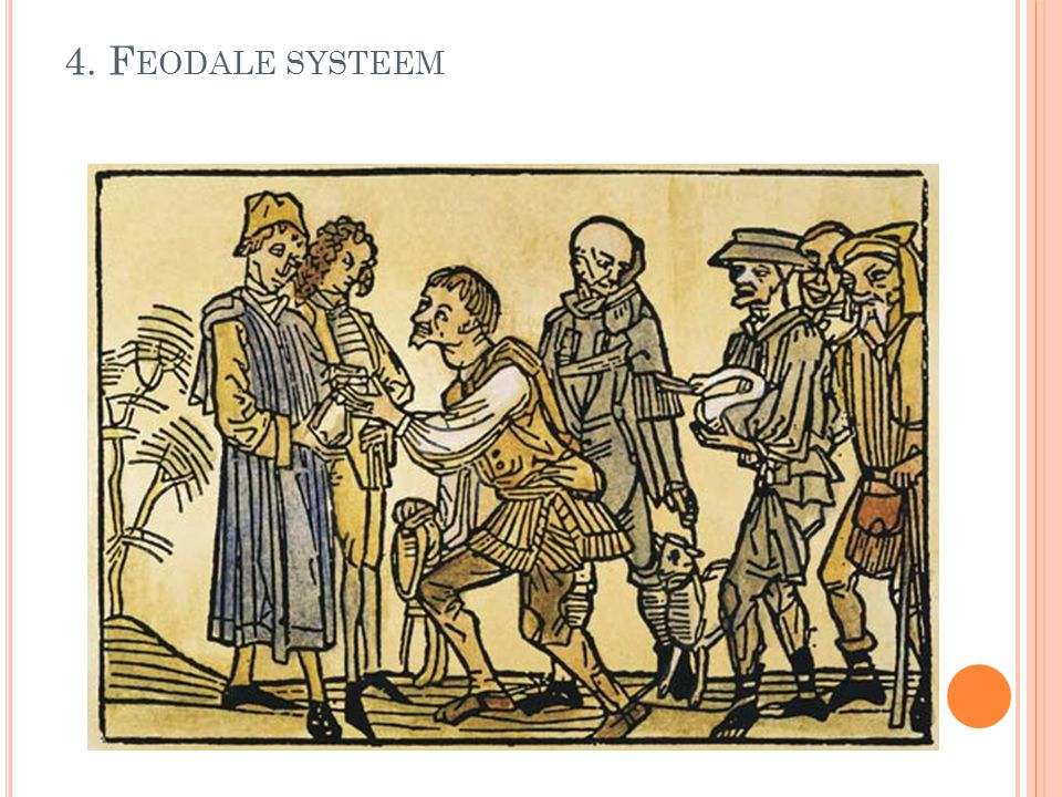 4. Feodale systeem