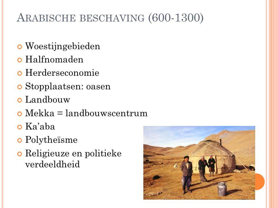 Arabische beschaving (600-1300)