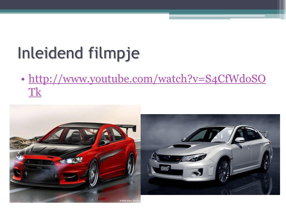 Inleidend filmpje http://www.youtube.com/watch v=S4CfWdoSO Tk