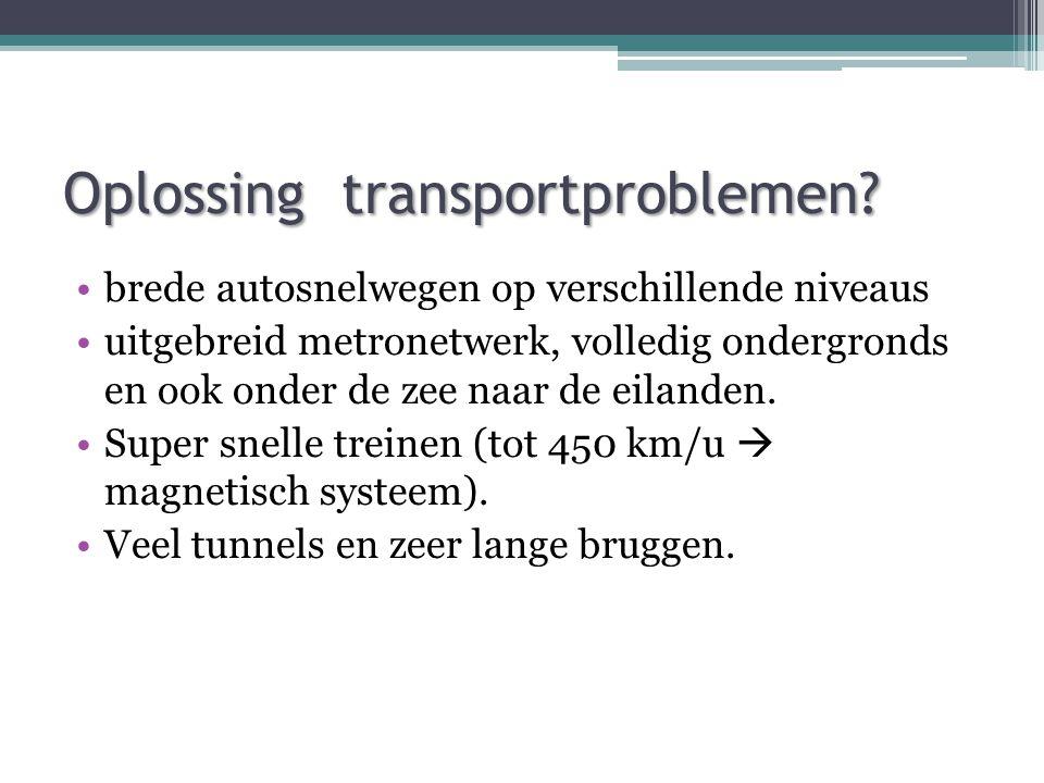Oplossing transportproblemen