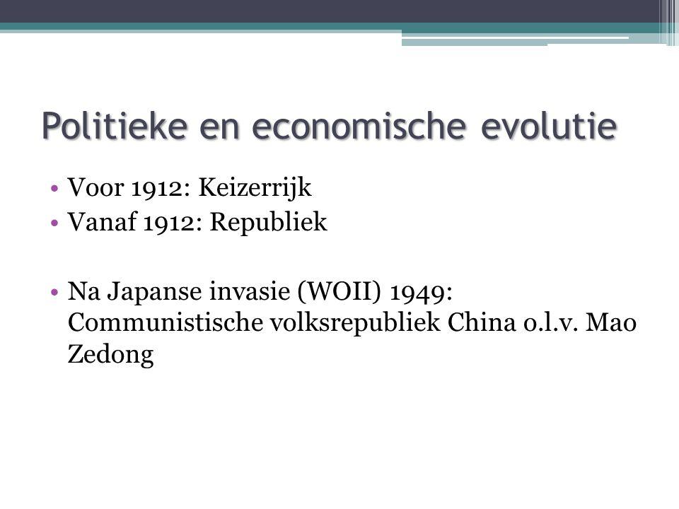 Politieke en economische evolutie