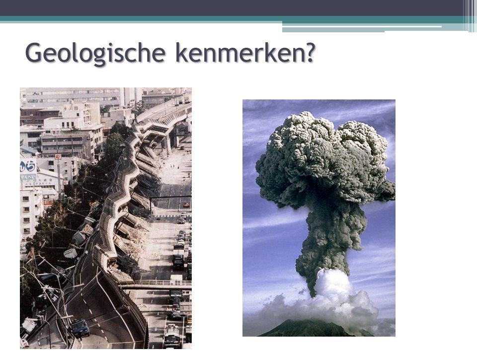 Geologische kenmerken