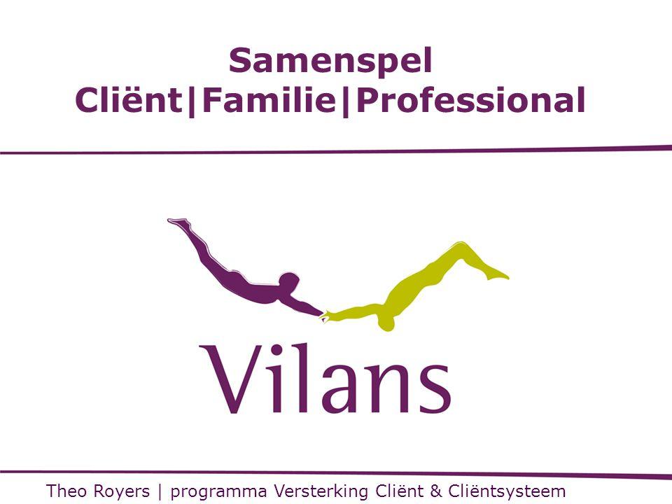 Samenspel Cliënt|Familie|Professional