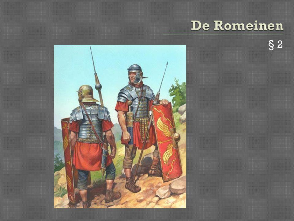 De Romeinen § 2