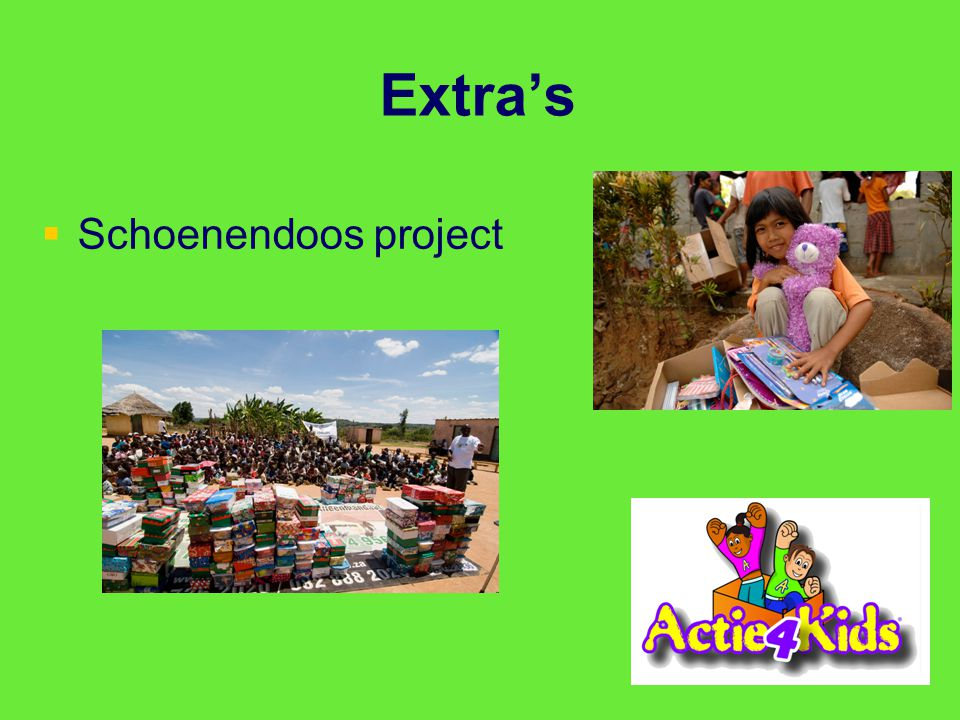 Extra's Schoenendoos project