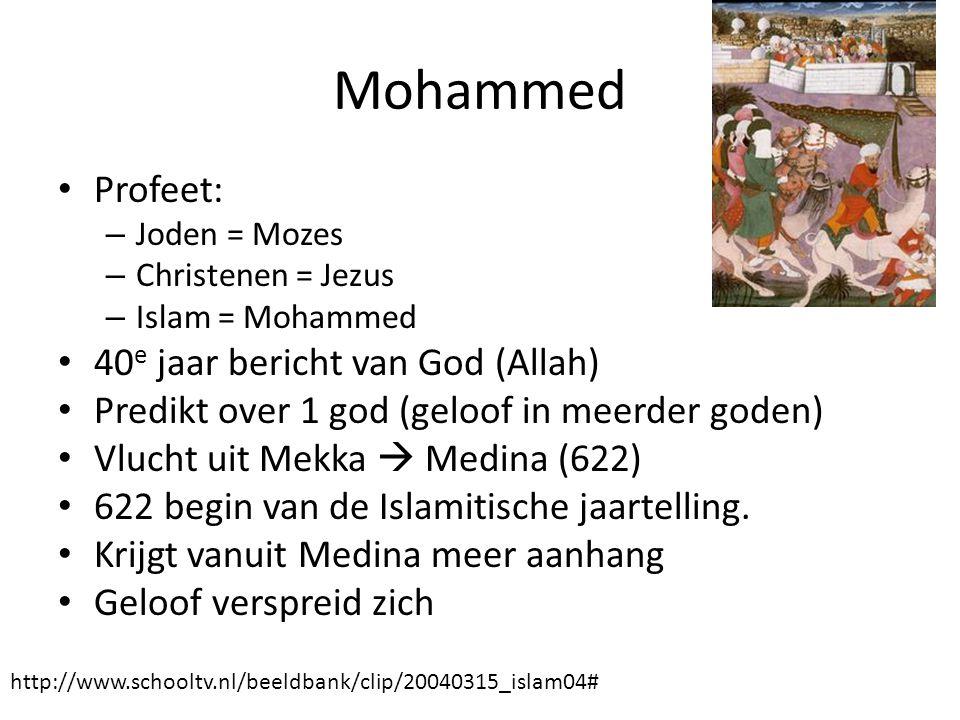 Mohammed Profeet: 40e jaar bericht van God (Allah)