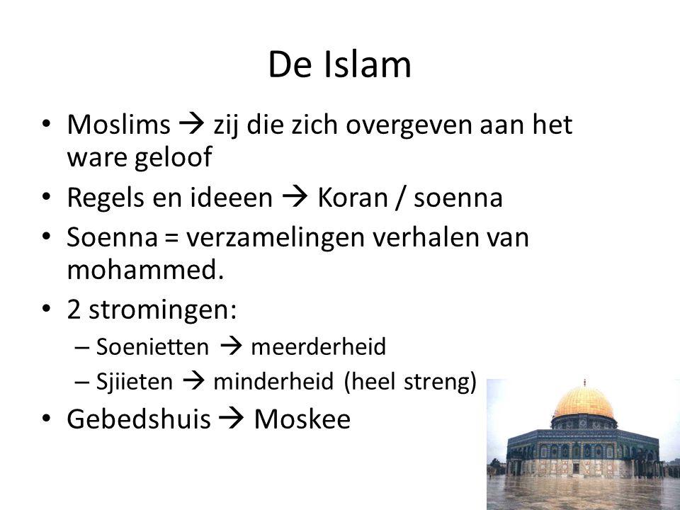 De Islam Moslims  zij die zich overgeven aan het ware geloof