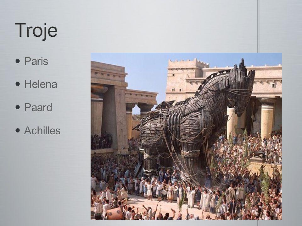 Troje Paris Helena Paard Achilles
