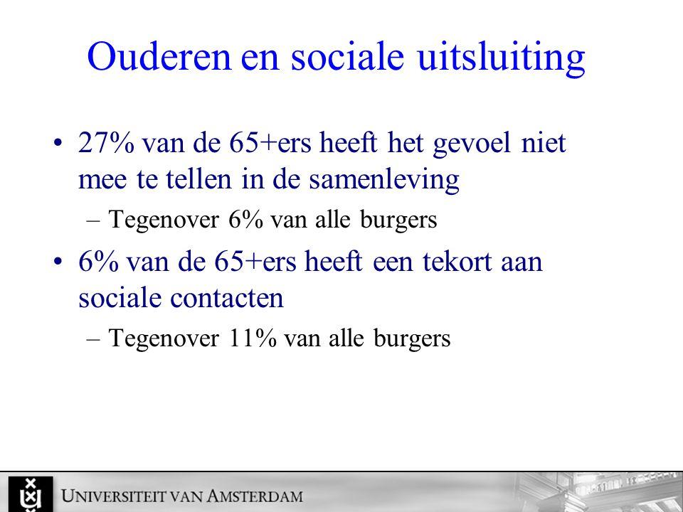 Ouderen en sociale uitsluiting