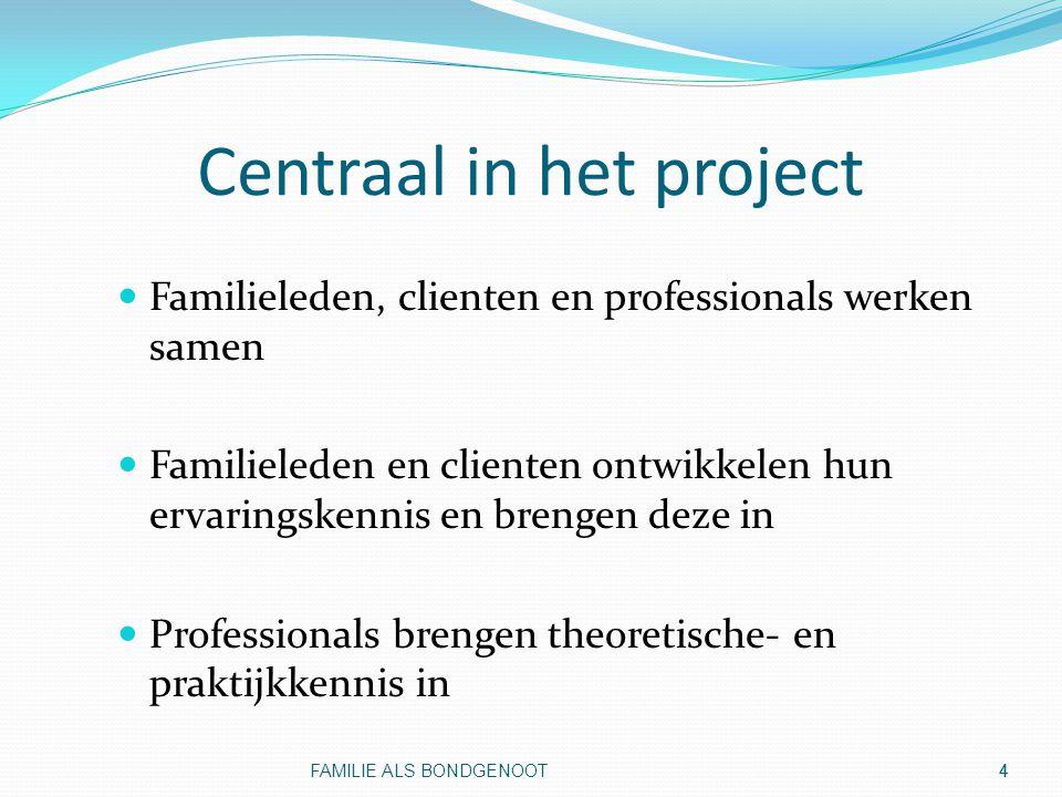 Centraal in het project