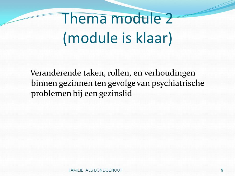 Thema module 2 (module is klaar)