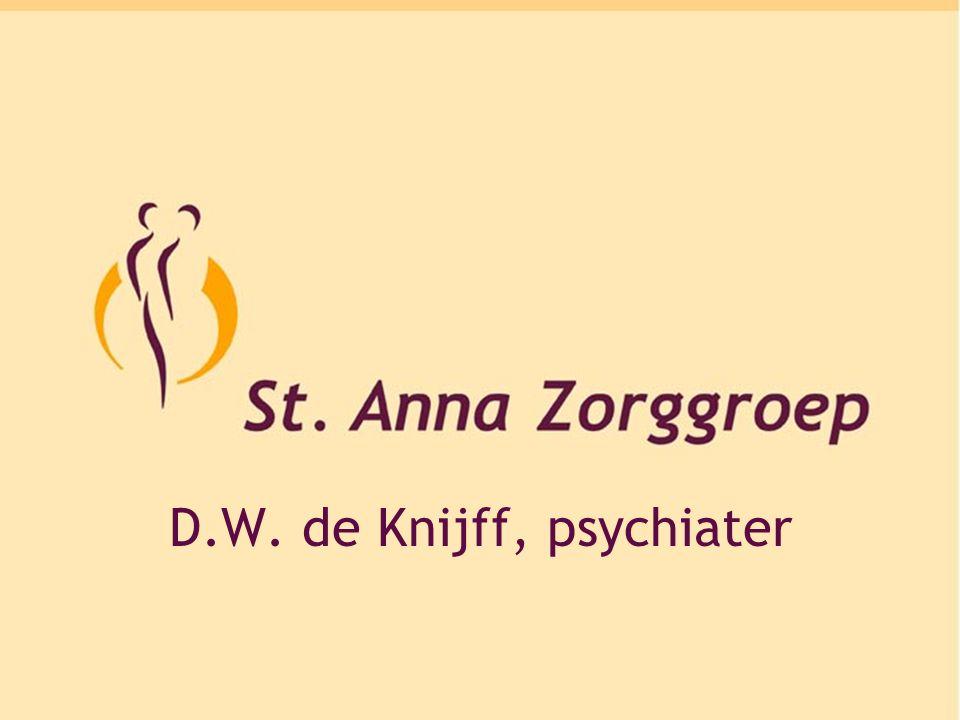 D.W. de Knijff, psychiater