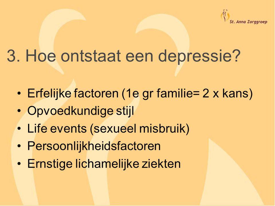 3. Hoe ontstaat een depressie
