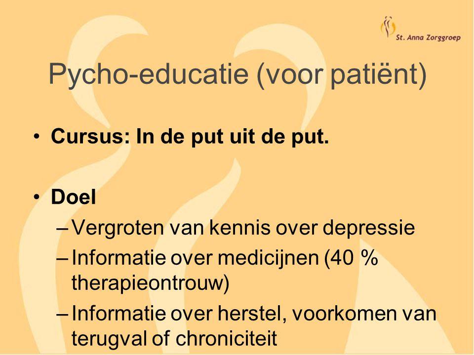 Pycho-educatie (voor patiënt)
