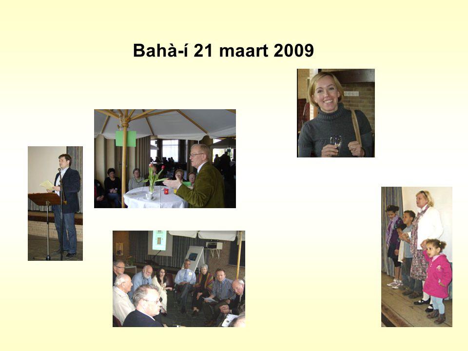 Bahà-í 21 maart 2009