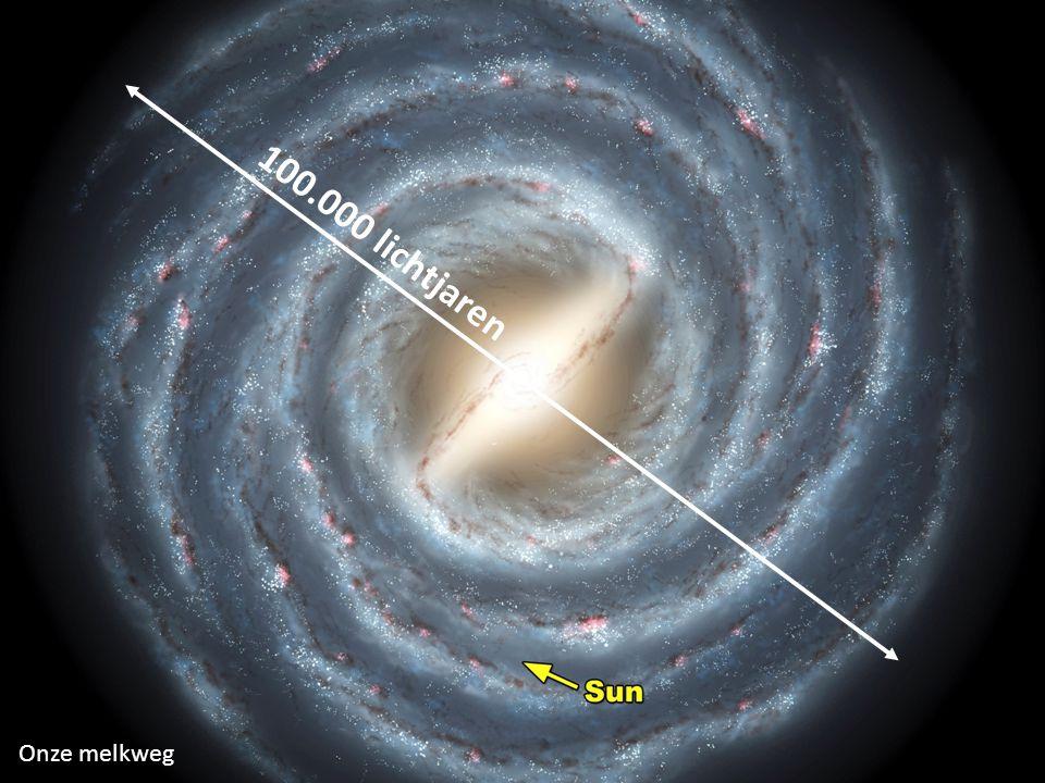 100.000 lichtjaren Onze melkweg