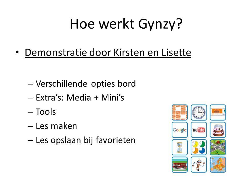 Hoe werkt Gynzy Demonstratie door Kirsten en Lisette