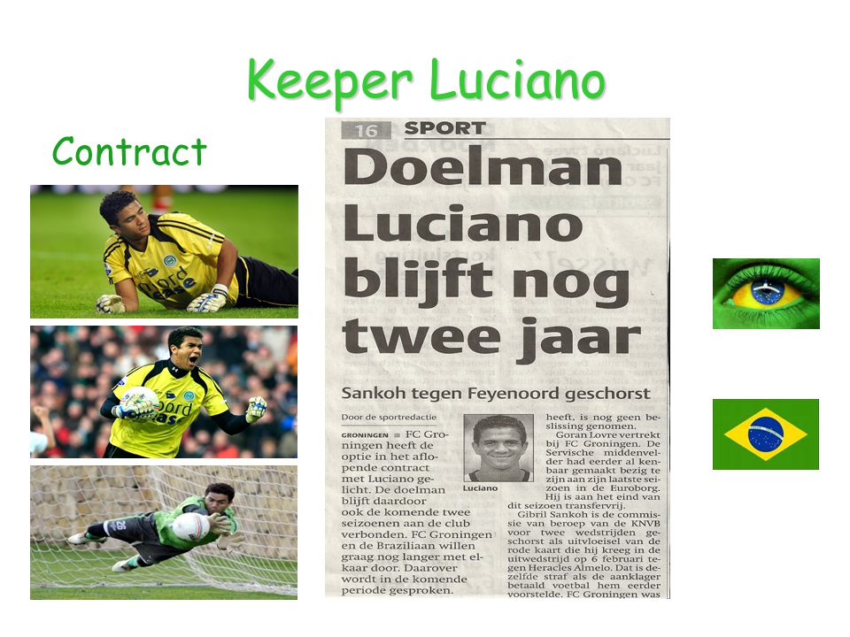 Keeper Luciano Contract