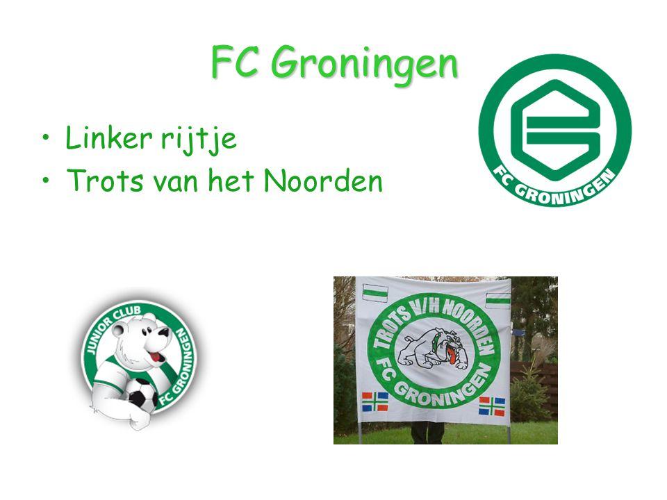 FC Groningen Linker rijtje Trots van het Noorden
