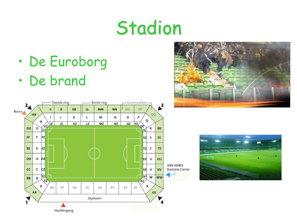 Stadion De Euroborg De brand