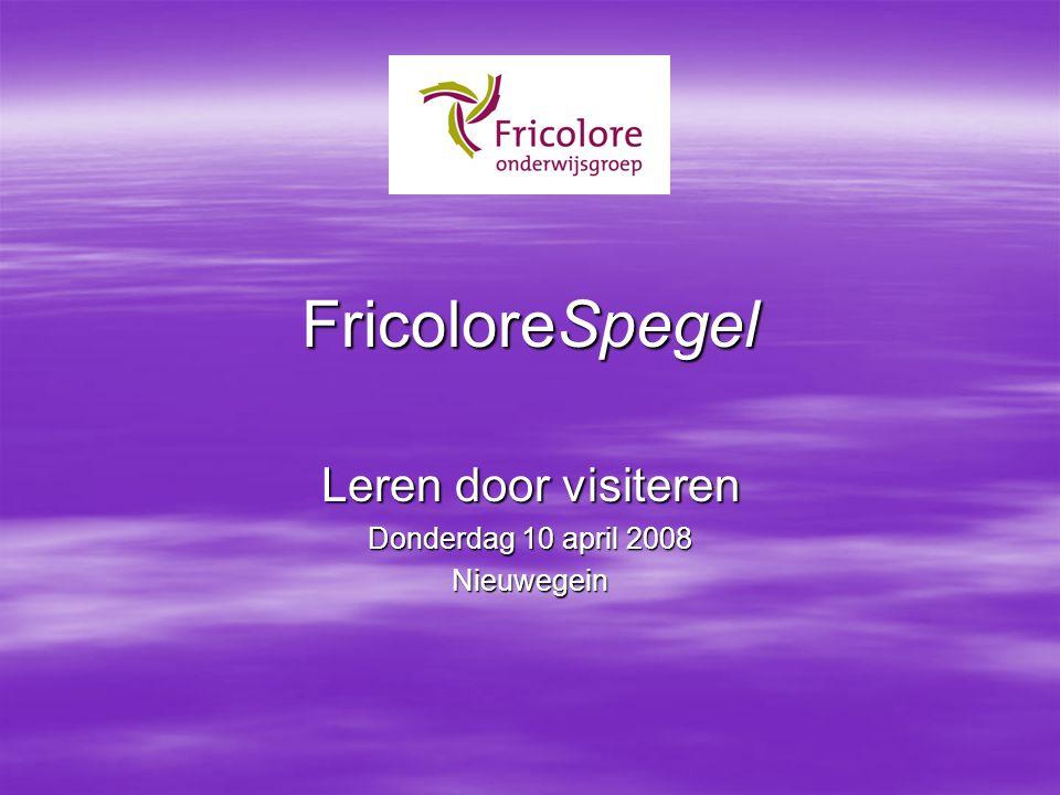 Leren door visiteren Donderdag 10 april 2008 Nieuwegein